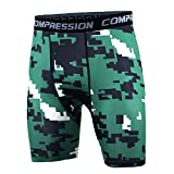 Best Hanes Compression Shirts For Men - AMAZING AMAZING Compression Mens Shorts Summer Camouflage Bermuda Review