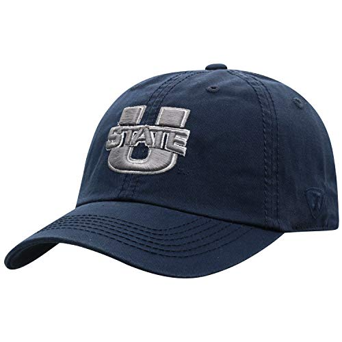 Top of the World Utah State Aggies Men's Hat Icon, Navy, - Aggies State Golf Utah
