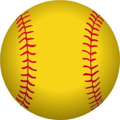 Softball Magnet ()