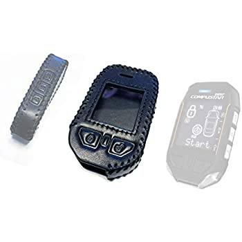 New Protective Leather Case For Compustar 2W9000-FM 2W900-FMR BL2WFMR Remotes
