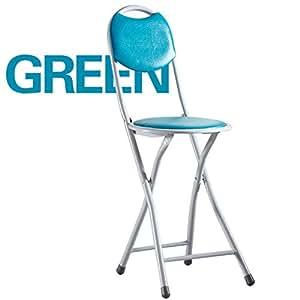 Sillas plegables silla de comedor taburete redondo taburete plegable con respaldo alto taburete - Taburete bar plegable ...