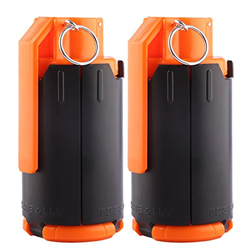 FenglinTech Tactical Grenades, 2PCS Foam Bullet Ball Grenade for CS Nerf Battle Game