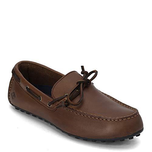 Sperry Mens Hamilton II 1-Eye Loafer, Dark Brown, 7.5