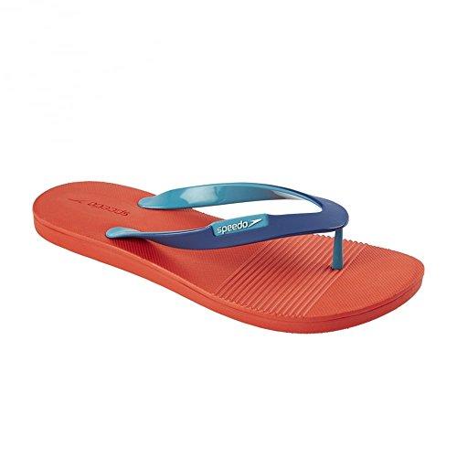 Speedo Sättigen II Tanga Flip Flops, Lava Rot mit Blau Lava Rot Mit Blau