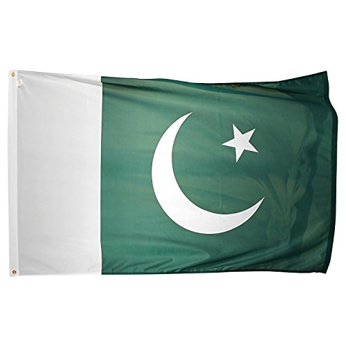 Pakistan Flag 3ftx5ft - Pakistan W