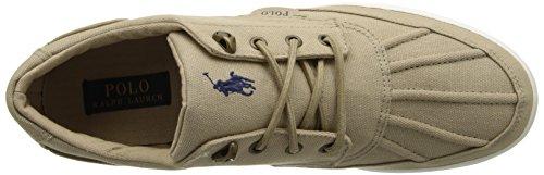 Polo Ralph Lauren Mens Dra Upp Säd Ramiro Mode Sneaker Khaki