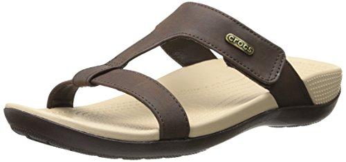 Comfort Crocs Ella mahogany Mahogany Black Sandal Path rr4dx5Cwq