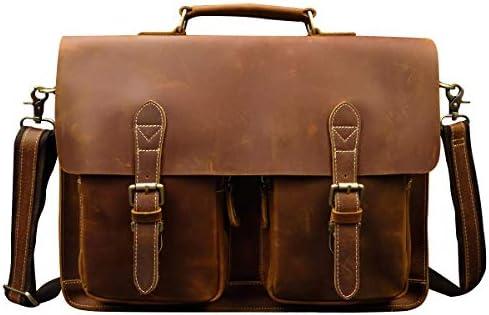 本革 ビジネスバッグ メンズ 大容量 ブリーフケース レザー 通勤鞄 A4 PC対応 ショルダーバッグ 2way トートバッグ 男性 手提げバッグ 革 耐久 2色 2サイズ