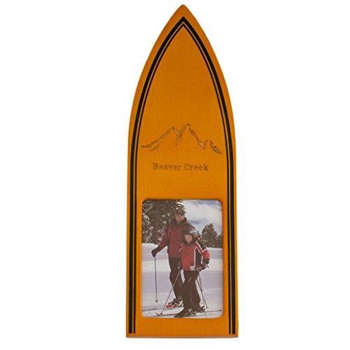 St. Croix Mountain Ski Theme Desktop Photo Frame Beaver - Creek Mountain Ski