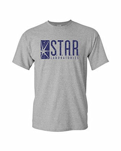 Star Labs Distressed Adult DT T-Shirt Tee from Gardenia 12 Prime Shipping (M, Gray) ()