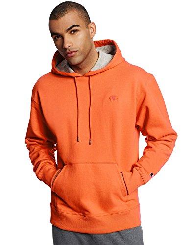 Champion Men's Powerblend Pullover Hoodie, Orange, XX-Large from Champion