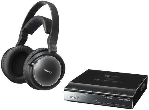 SONY Wireless Stereo Surround Headphone System MDR-DS7100 Japan Import