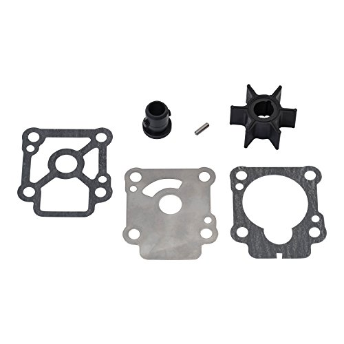 QuickSilver 803748Q01 Water Pump Impeller Repair Kit - Mercury and Mariner 8 and 9.9 Horsepower 4-stroke Outboards