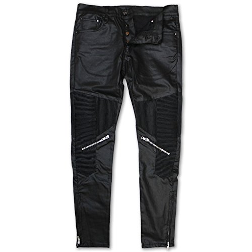 Dope Couture Foothill Tapered Denim Jeans Black by Dope Couture