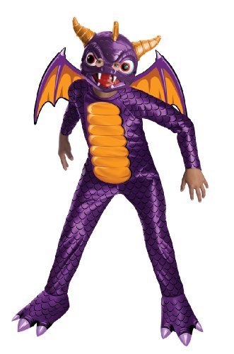 Scary Halloween Costumes Videos (Skylanders: Spyro's Adventure Spyro The Dragon Costume - Large)