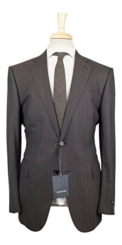 Ermenegildo Zegna Mila All Season Wool 2 Button Suit for sale  Delivered anywhere in USA