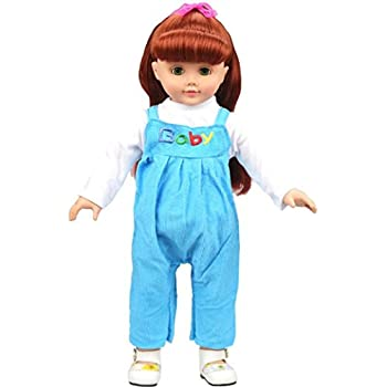Amazon Com Doll Rompers Outfits For 18 Inch Doll Nomeni Baby Doll