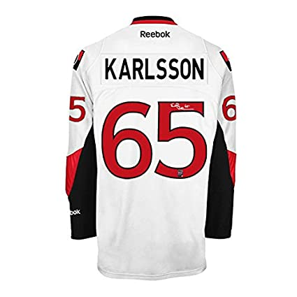 info for 081a9 fb12b Erik Karlsson Signed Ottawa Senators Away Jersey at Amazon's ...