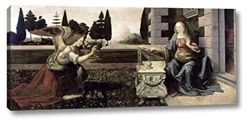 (Annunciation - 2 by Leonardo Da Vinci - 10