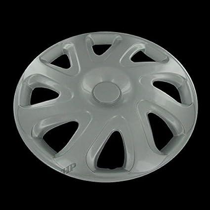 Plateado fundas para ruedas de 14