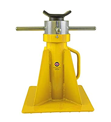 "ESCO 10802 Screw Style Jack Stand, Short Model, 20 Ton Capacity, 26.8"" Height"