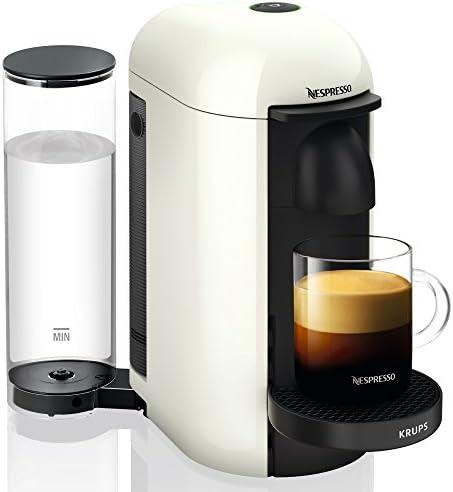 Nespresso Vertuo - Machine à café à capsules pour espresso ou café long - de 40 ml à 410 ml - Blanc - Krups YY3916FD