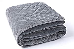 anjee removable duvet cover for weighted blankets inner layer to keep clean just. Black Bedroom Furniture Sets. Home Design Ideas