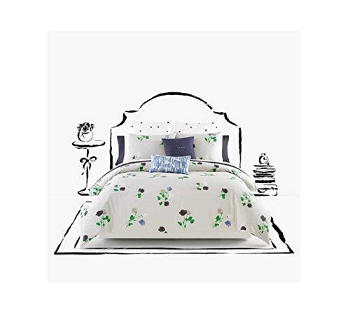 Comforter Willow - Kate Spade Willow Court Queen Full Comforter Set, Platinum Grey Green Blue Floral