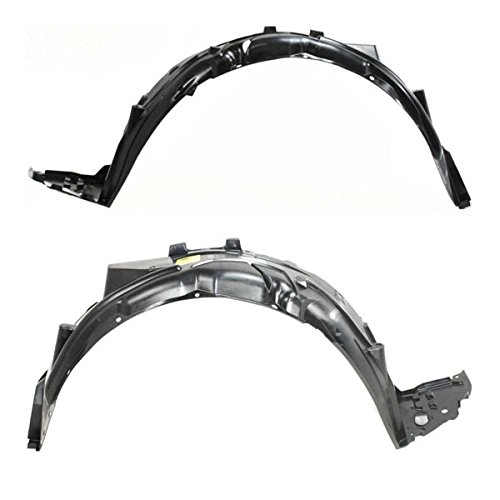 For 06-11 Civic Sedan Front Splash Shield Inner Fender Liner Left Right SET PAIR