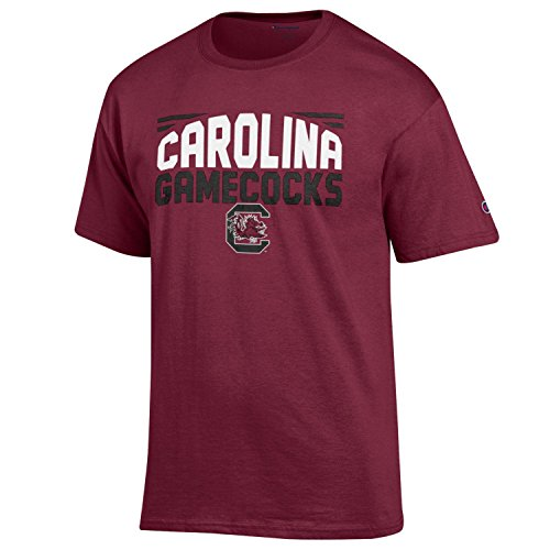 NCAA Champion Men's Push Ahead Short sleeve T-Shirt South Carolina Fighting Gamecocks Medium