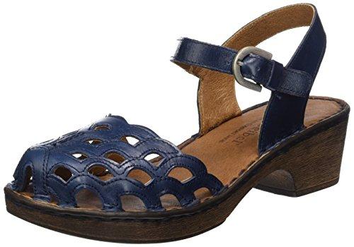 Josef Seibel Rebecca 17, WoMen Ankle Strap Sandals Blue - Blau (Denim)