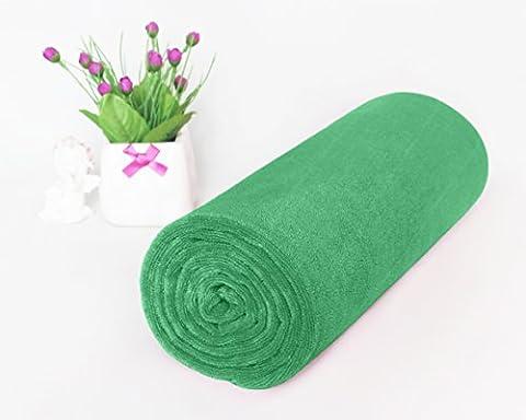 Microfiber Travel Towel - Large Super Absorbent Sport Towel for Kids, Bath, Gym, Pool, Beach, Camping, Fitness or Yoga - Yarn Fuchsia Plum