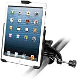Heavy Duty Yoke Clamp Rail Airplane Aircraft Mount Holder for Apple iPad mini