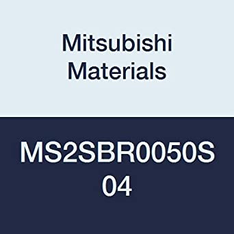 0.5 mm Corner Radius 4 mm Shank Dia. Mitsubishi Materials MS2SBR0050S04 MS2SB Series Carbide Mstar Ball Nose End Mill 1 mm Cutting Dia 2 Flutes Short Flute