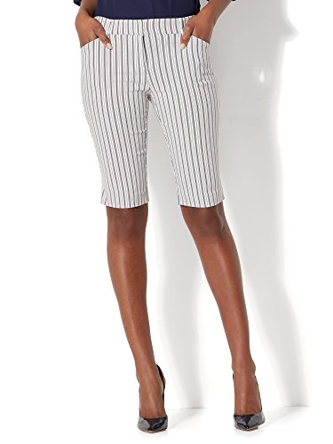 New York & Co. 7Th Avenue - Bermuda Short - Signature 8 Paper (Womens Tailored Shorts)