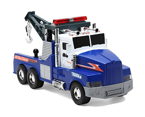 Tonka Mighty Motorized Tow Truck Toy (Tonka Tow Truck)