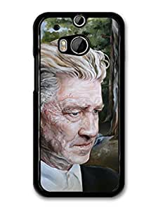 AMAF ? Accessories David Lynch Fire Painting Director Filmmaker case for HTC One M8