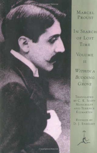 in search of lost time volume ii proust marcel