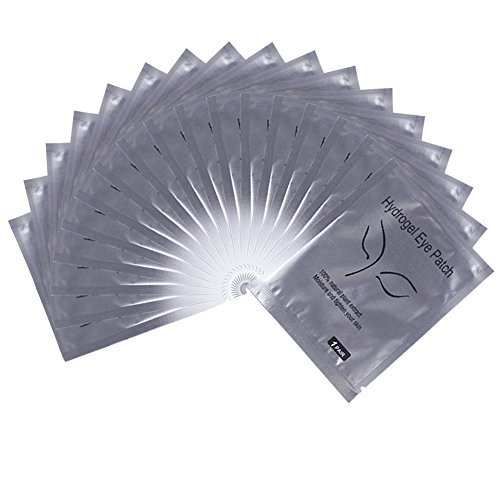 50 Pairs Eyelash Lash Extension Under Eye Gel Collagen Pads Lint Patches (50PCS) by ABO (Image #1)