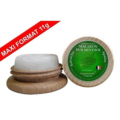 MACARON MENTHOL MAXI FORMAT - Naturicinale ® - ECONOMIQUE -100% NATUREL 11g