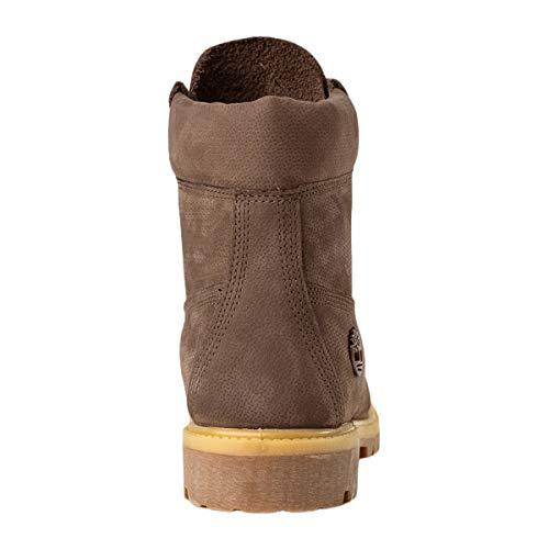 Brown Dark Inch Waterproof Homme Timberland Bottes 6 Premium HFHwzq