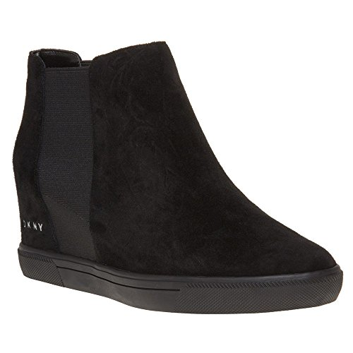 Dkny Chelsea Wedge Womens Boots Black