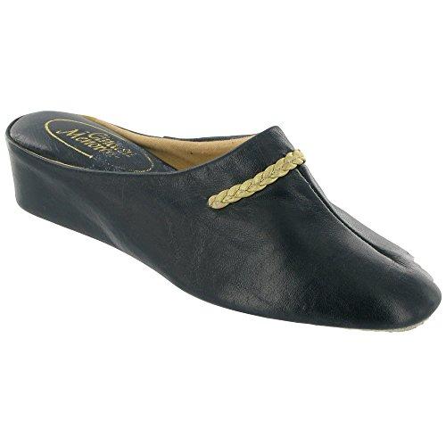 Cincasa Menorca Slip-On Textile Lined Womens Slippers - Pewter - Size 36 37 38 39 40 41 Azul marino