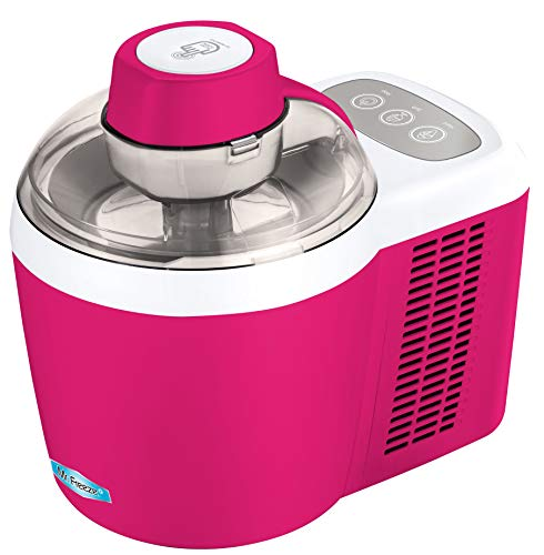 Compressor Cooling (Maxi-Matic EIM-700BR Pint Ice Makers, 1.5, Berry)