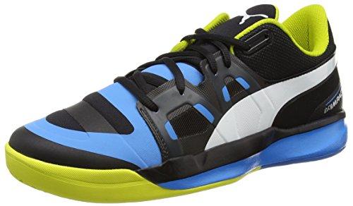 Evoimpact Spring sulphur Indoor Chaussures black Schwarz white Noir cloisonné Puma Homme 02 1 dqHawpdv