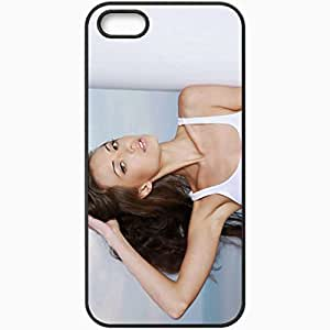 Personalized iPhone 5 5S Cell phone Case/Cover Skin Anna Sbitnaya Model T Shirt Photoshoot Black