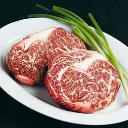 Chicago Steak Wagyu Kobe Style Ribeye, 4(12oz) (Steak Gift Delivery)