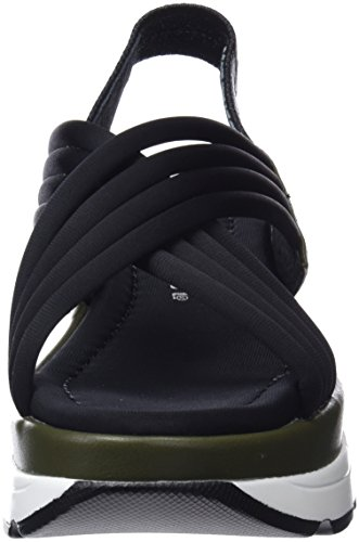 Drake Neoprene Strap Mulicoloured Napy Sandals Women's SixtySeven Black Kaky Ankle f1Rq5Scw