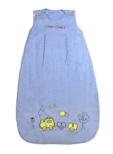 Bebé de Verano Saco de dormir 1 Tog - tren, 70cm/ 0-6 meses