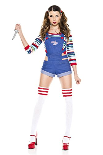 Music Legs Nightmare Killer Doll Costume (M/L) -
